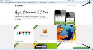buffer app, buffer application, browser extension